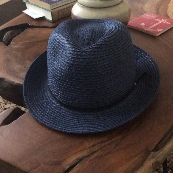 Navy blue men's hat
